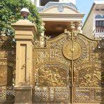 Những ưu điểm của cổng nhôm đúc