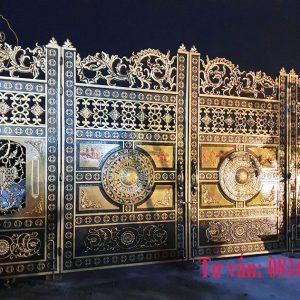 Mẫu cổng trống đồng