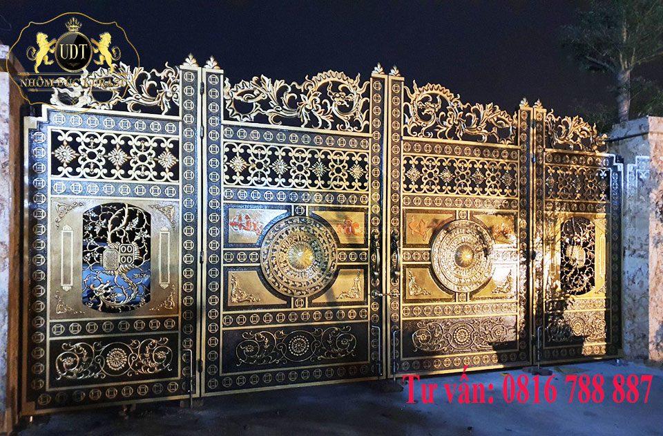 cổng nhôm đúc giá bao nhiêu tiền
