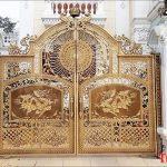 Sản xuất lắp đặt cổng nhôm đúc tại Hà Nội