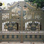 Cổng nhà vườn đẹp sang trọng thiết kế mới nhất