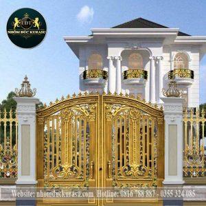Mẫu cổng biệt thự đương đại