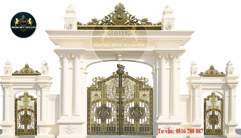 Mẫu cổng nhôm đúc tại TP Hồ Chí Minh